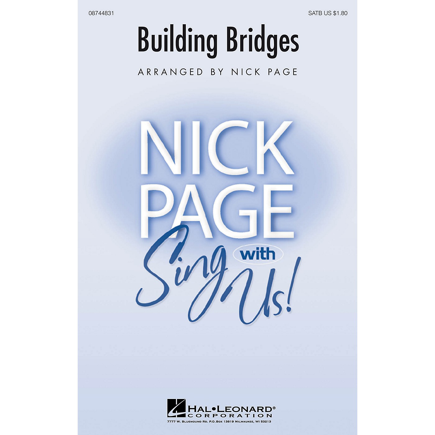 Hal Leonard Building Bridges SATB arranged by Nick Page thumbnail