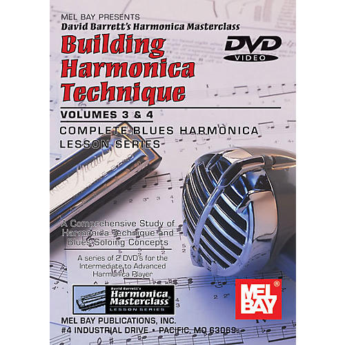 Mel Bay Building Harmonica Technique Volumes 3 & 4 DVD thumbnail