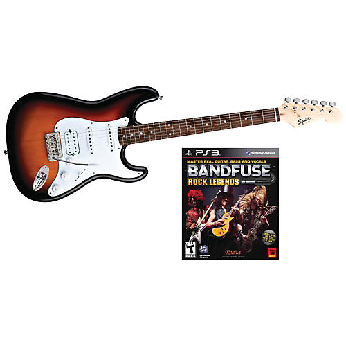 Squier Bullet HSS with BandFuse: Rock Legends thumbnail
