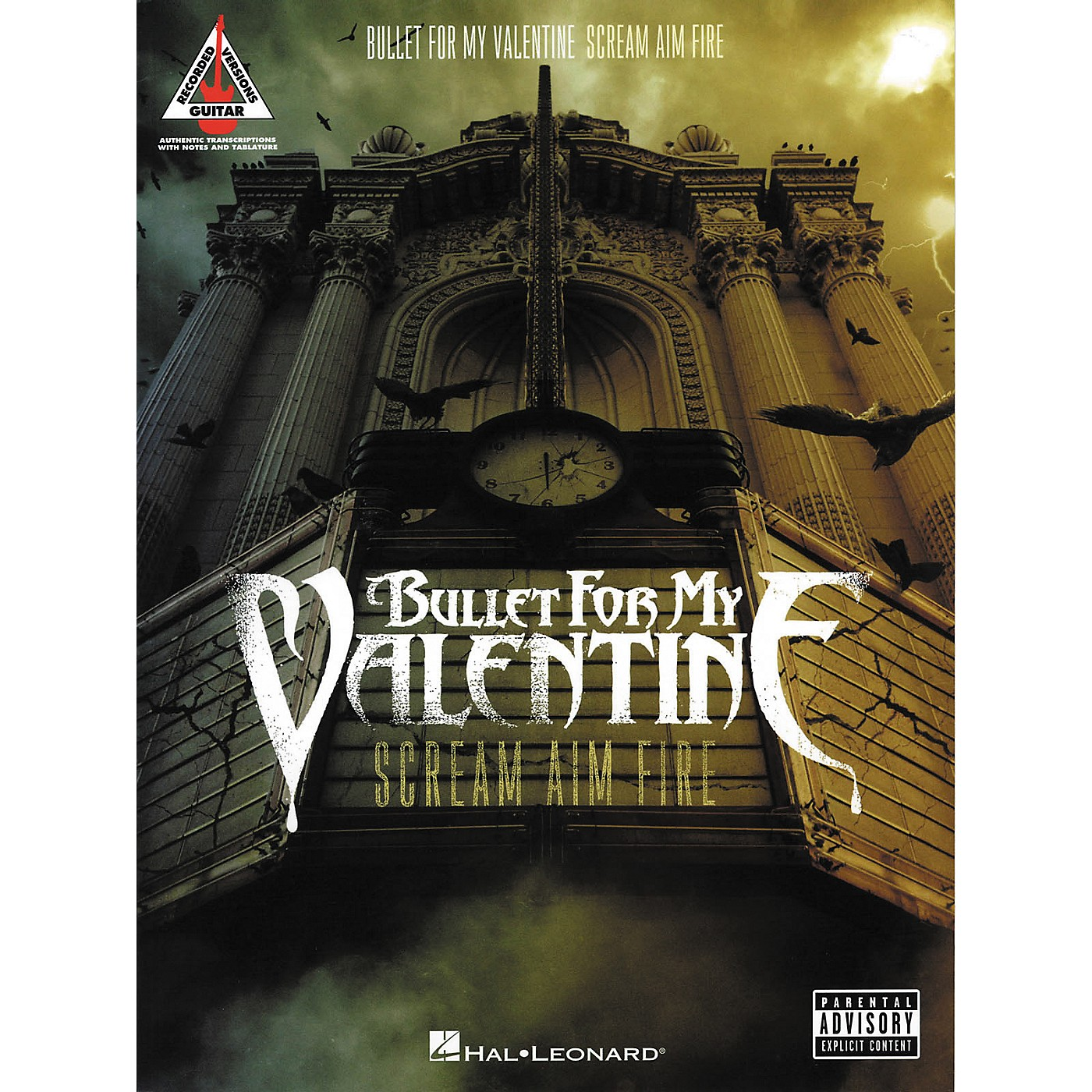 Hal Leonard Bullet for My Valentine - Scream Aim Fire Guitar Tab Songbook thumbnail