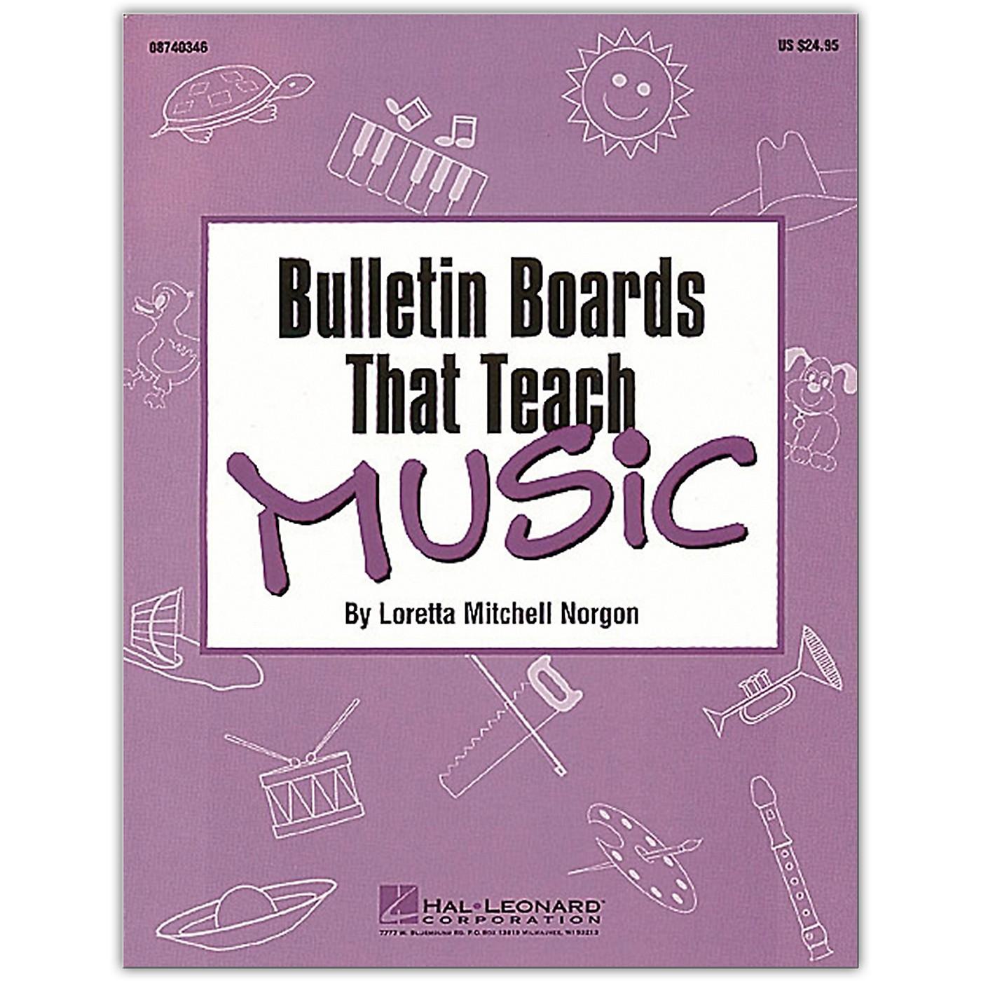 Hal Leonard Bulletin Boards That Teach Music Book thumbnail
