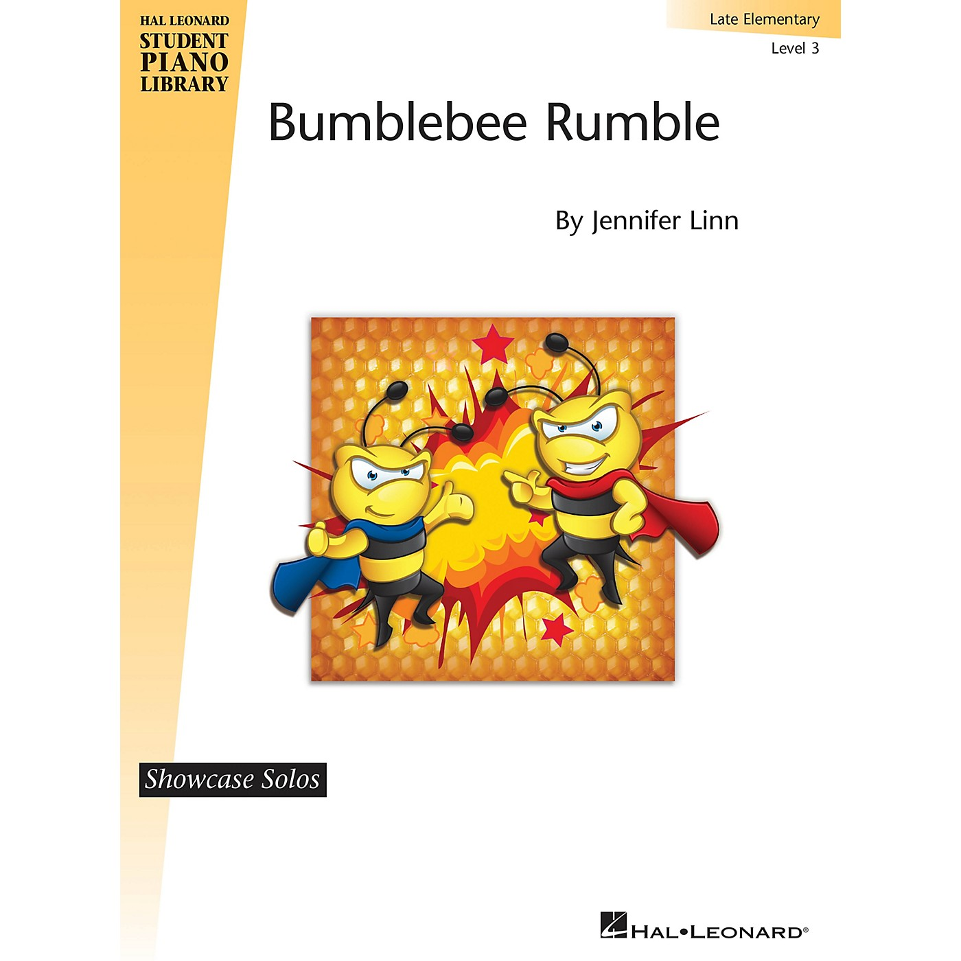 Hal Leonard Bumblebee Rumble Piano Library Series by Jennifer Linn (Level Late Elem) thumbnail