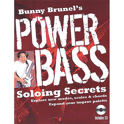 Backbeat Books Bunny Brunel's Power Bass: Soloing Secrets (Book/CD)-thumbnail