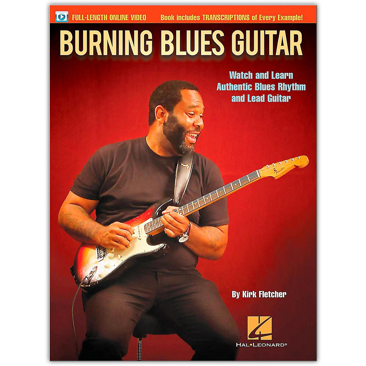 Hal Leonard Burning Blues Guitar - Watch and Learn Authentic Blues Rhythm and Lead Guitar Book/Online Video thumbnail