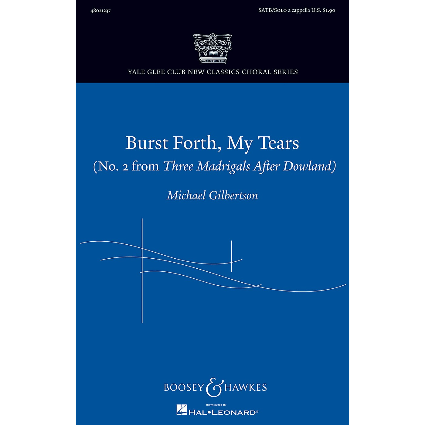 Boosey and Hawkes Burst Forth, My Tears SATB and Solo A Cappella thumbnail
