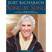 Schirmer Trade Burt Bacharach - Song by Song Omnibus Press Series Softcover