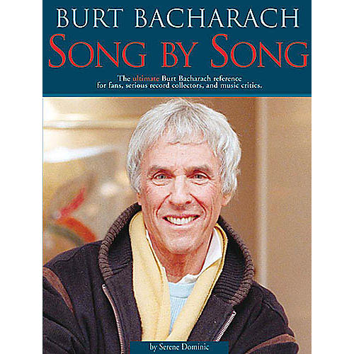 Schirmer Trade Burt Bacharach - Song by Song Omnibus Press Series Softcover thumbnail