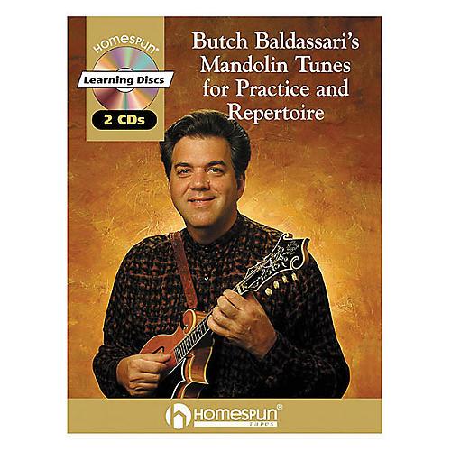 Homespun Butch Baldassari's Mandolin Tunes for Practice & Repertoire Book with CD thumbnail