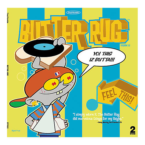 Thud Rumble Butter Rug Slipmat Pair thumbnail