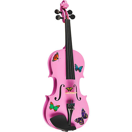 Rozanna's Violins Butterfly Dream Lavender Series Violin Outfit thumbnail