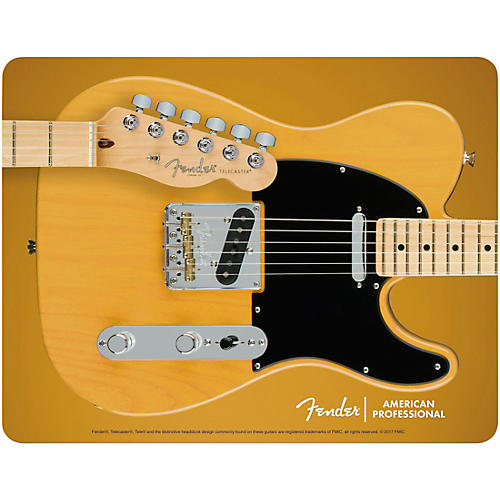 Fender Butterscotch Blonde Telecaster Mouse Pad thumbnail