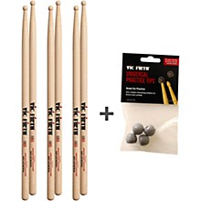 Vic Firth Buy 3 Pairs of SD1 Sticks and Receive a Free Pack Universal Practice Tips