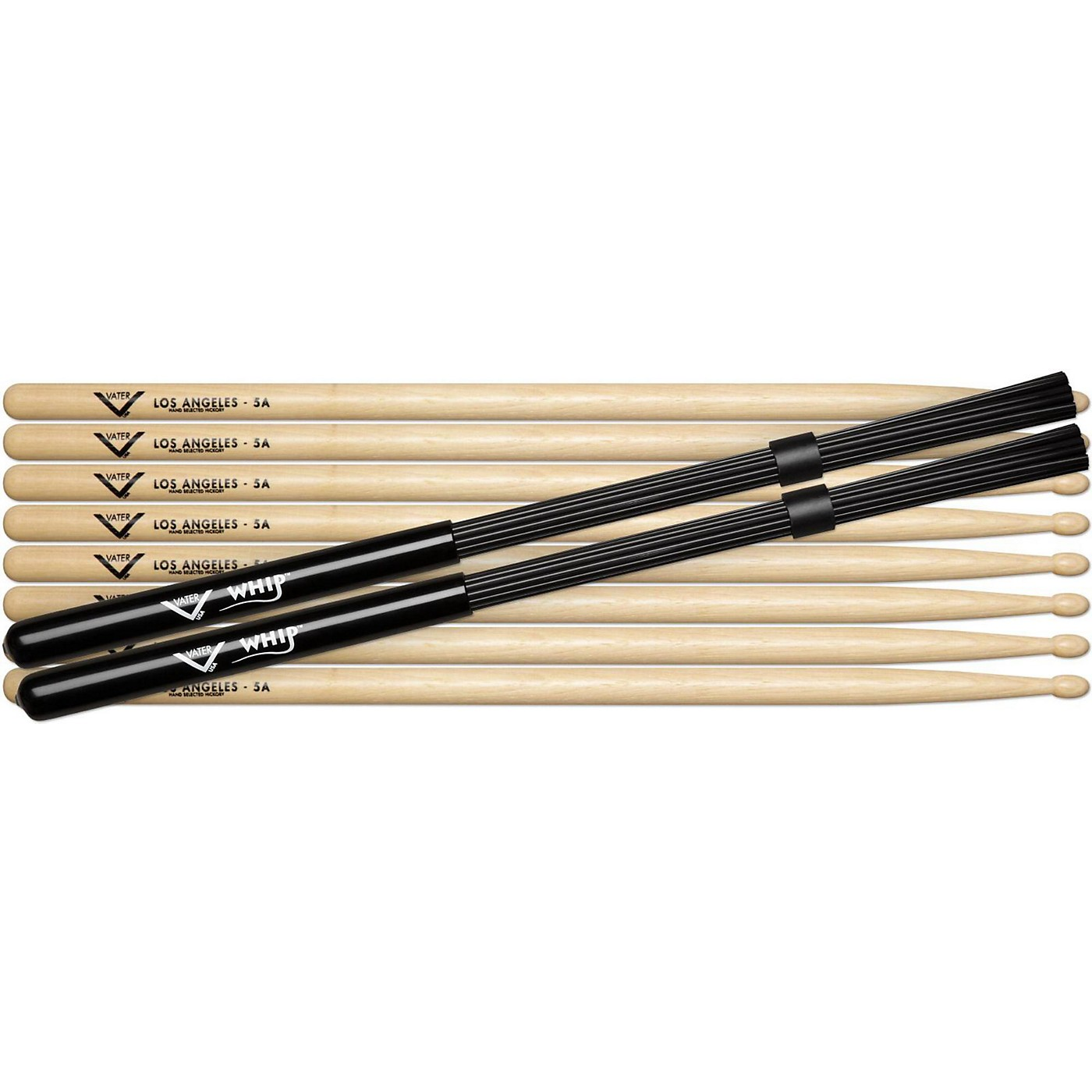 Vater Buy 4 Pairs 5A Wood Get Free Pair Whips thumbnail