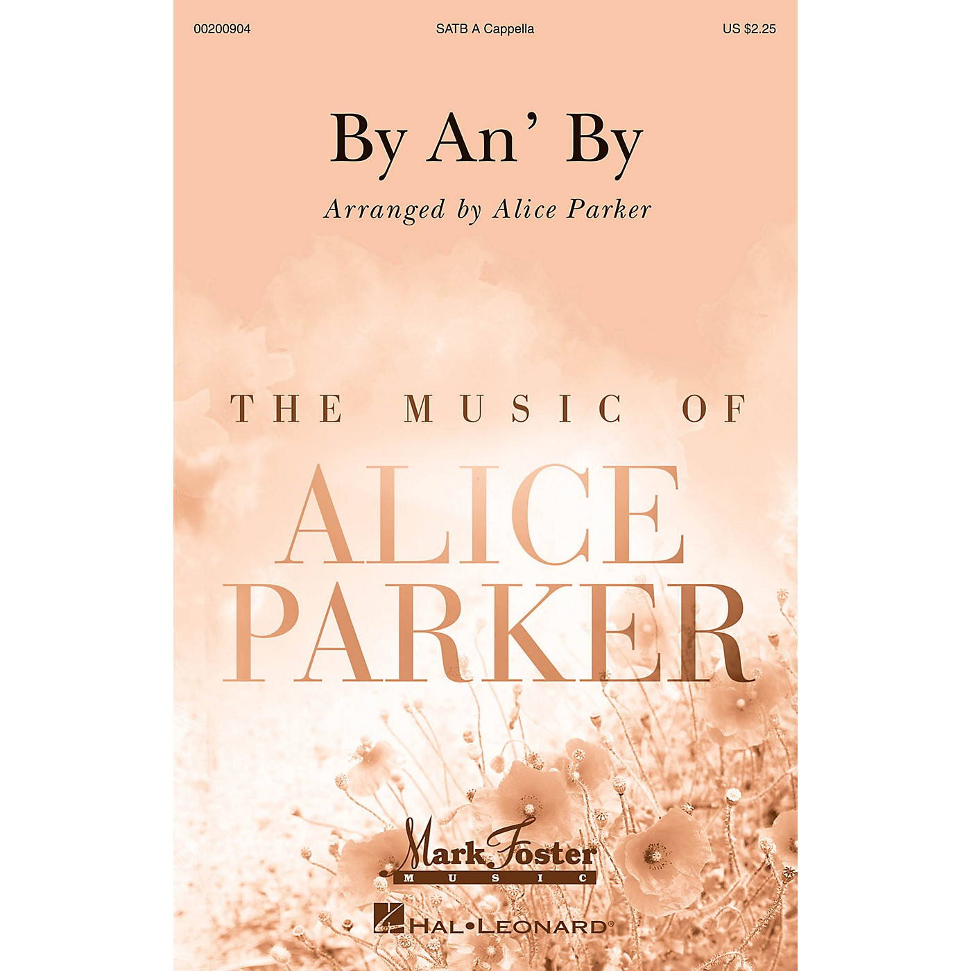 Mark Foster By an' By (Mark Foster) SATB a cappella arranged by Alice Parker thumbnail
