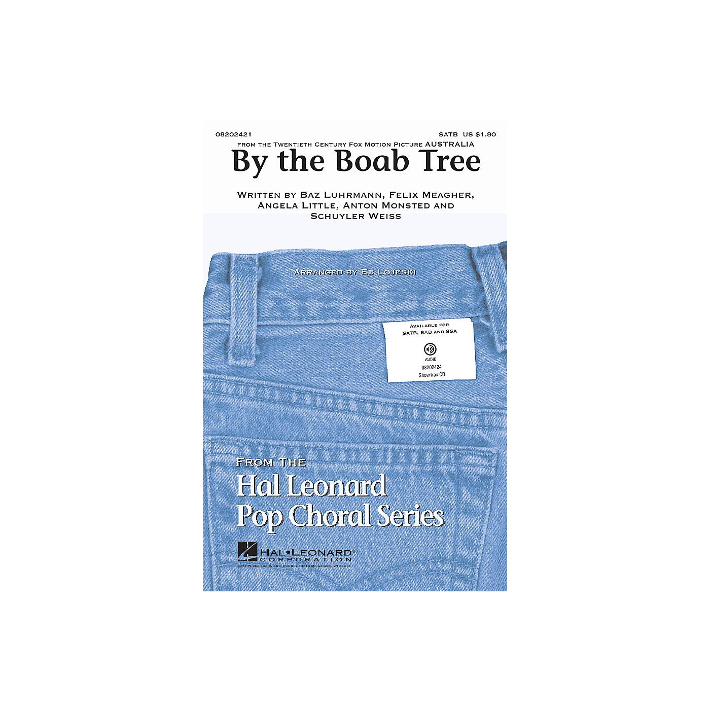 Hal Leonard By the Boab Tree (from the film Australia) SATB arranged by Ed Lojeski thumbnail
