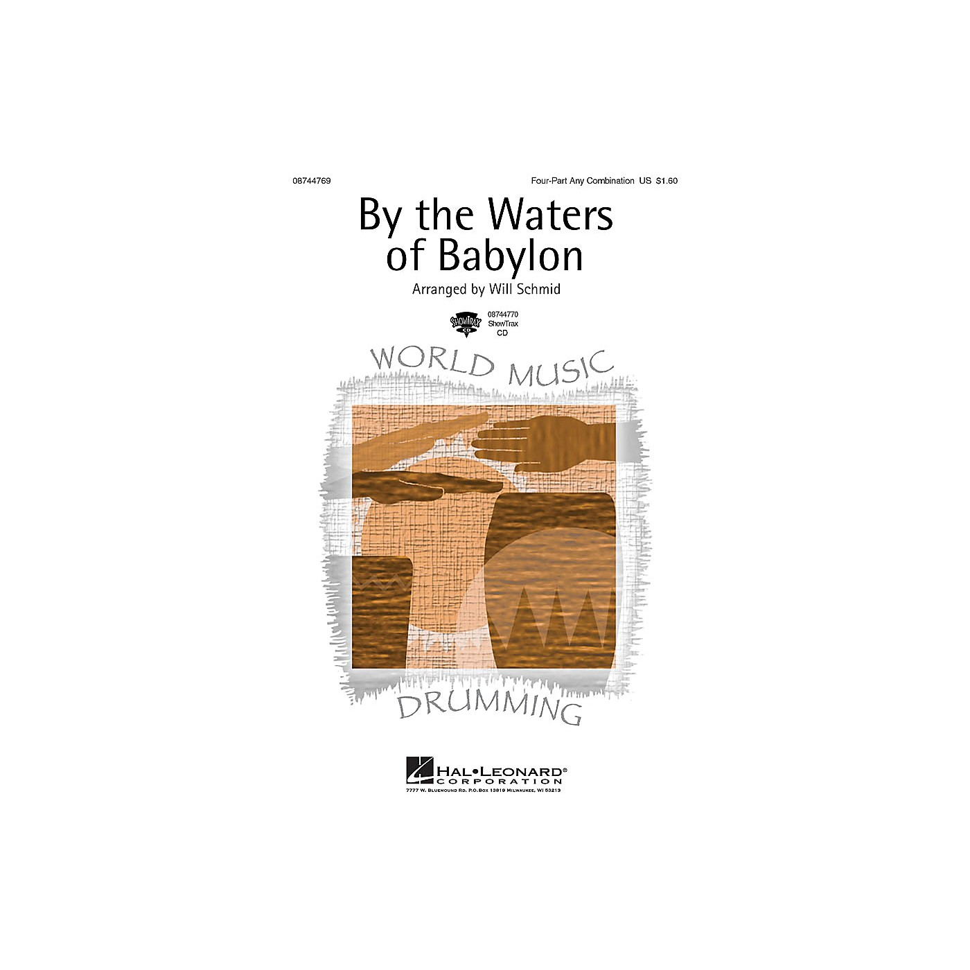 Hal Leonard By the Waters of Babylon 4 Part arranged by Will Schmid thumbnail