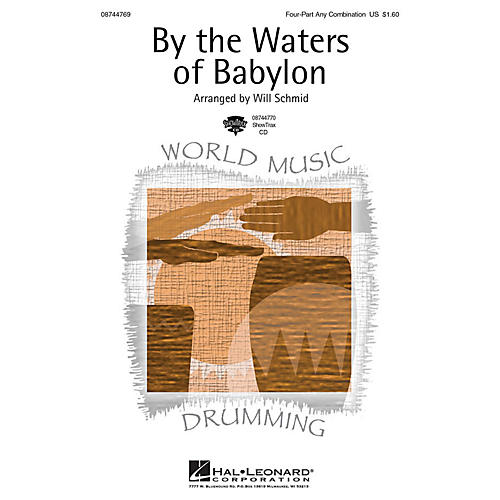 Hal Leonard By the Waters of Babylon ShowTrax CD Arranged by Will Schmid thumbnail