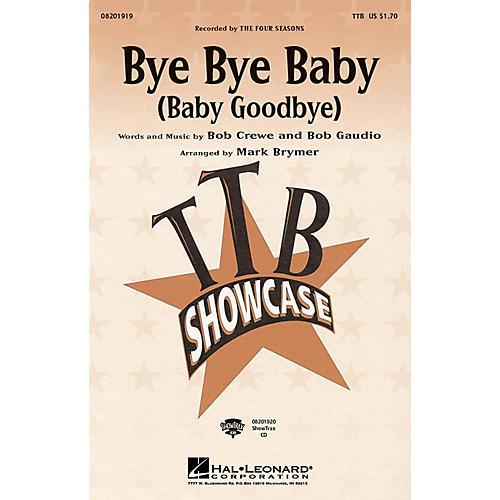 Hal Leonard Bye Bye Baby (Baby Goodbye) ShowTrax CD by The Four Seasons thumbnail