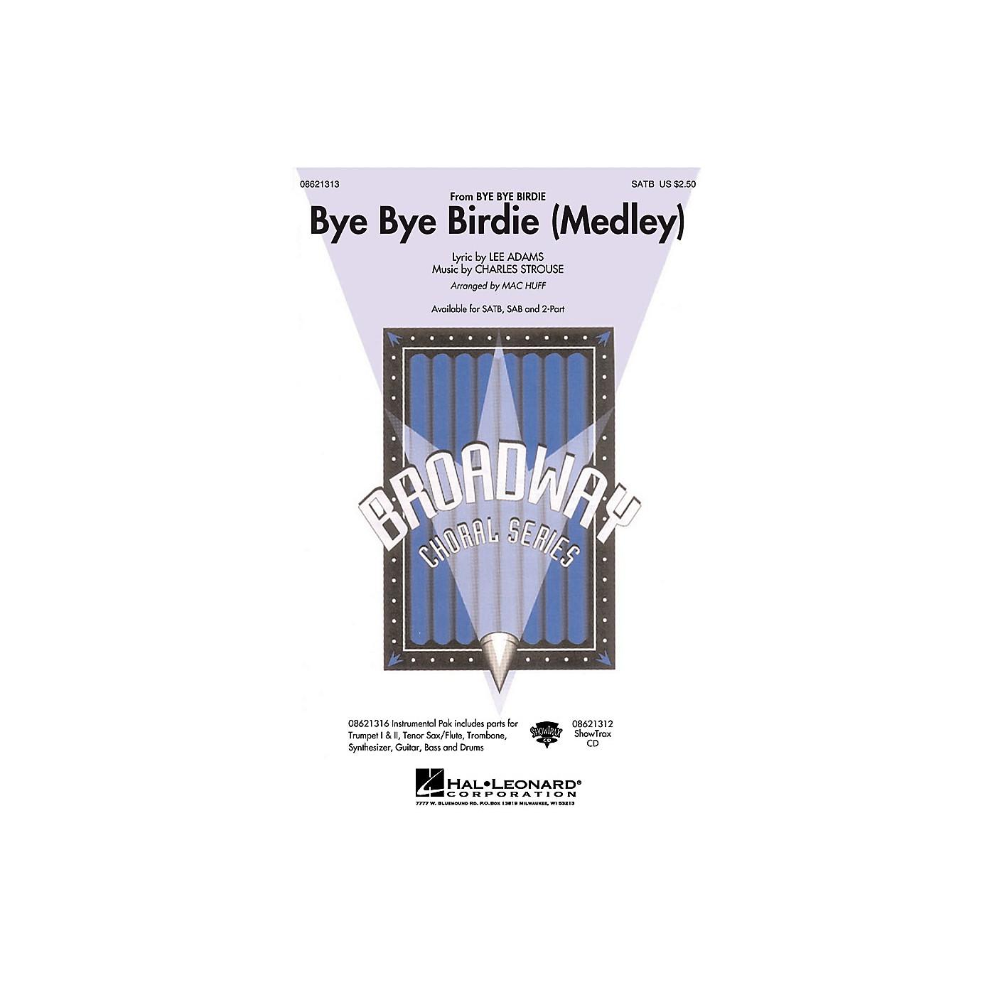 Hal Leonard Bye Bye Birdie (Medley) SATB arranged by Mac Huff thumbnail
