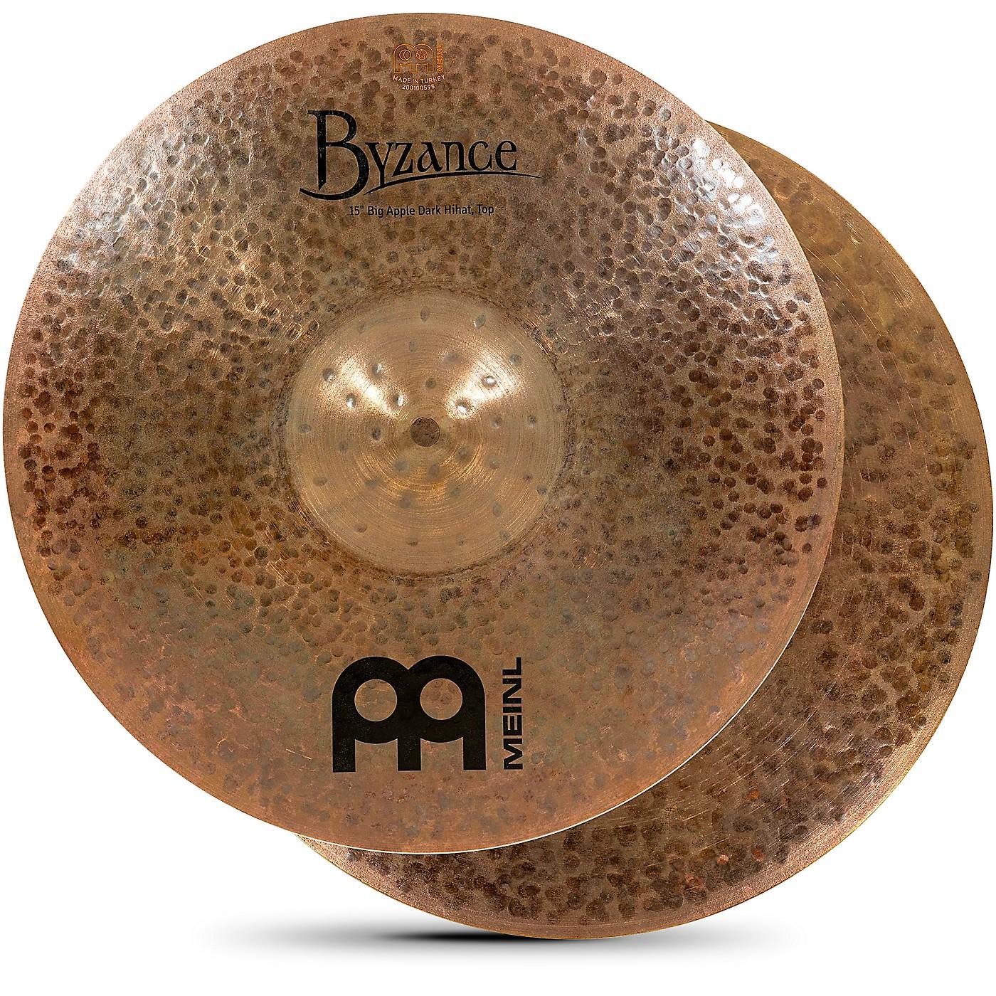 Meinl Byzance Big Apple Dark Hi-Hat Cymbals thumbnail