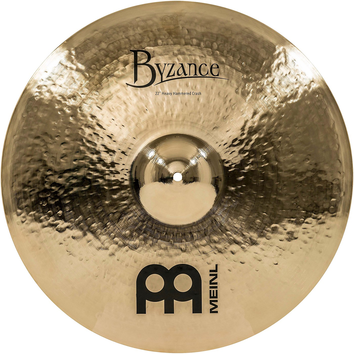 Meinl Byzance Brilliant Heavy Hammered Crash Cymbal thumbnail