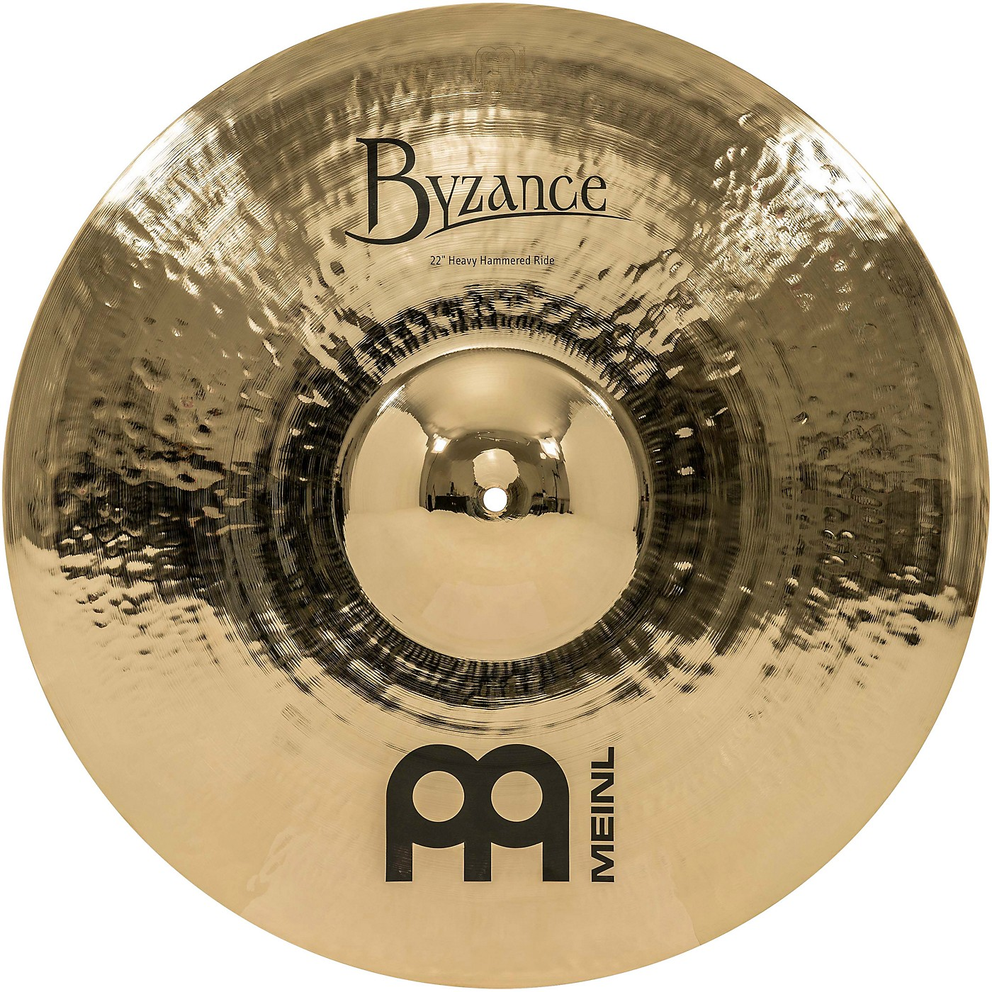 Meinl Byzance Brilliant Heavy Hammered Ride Cymbal thumbnail
