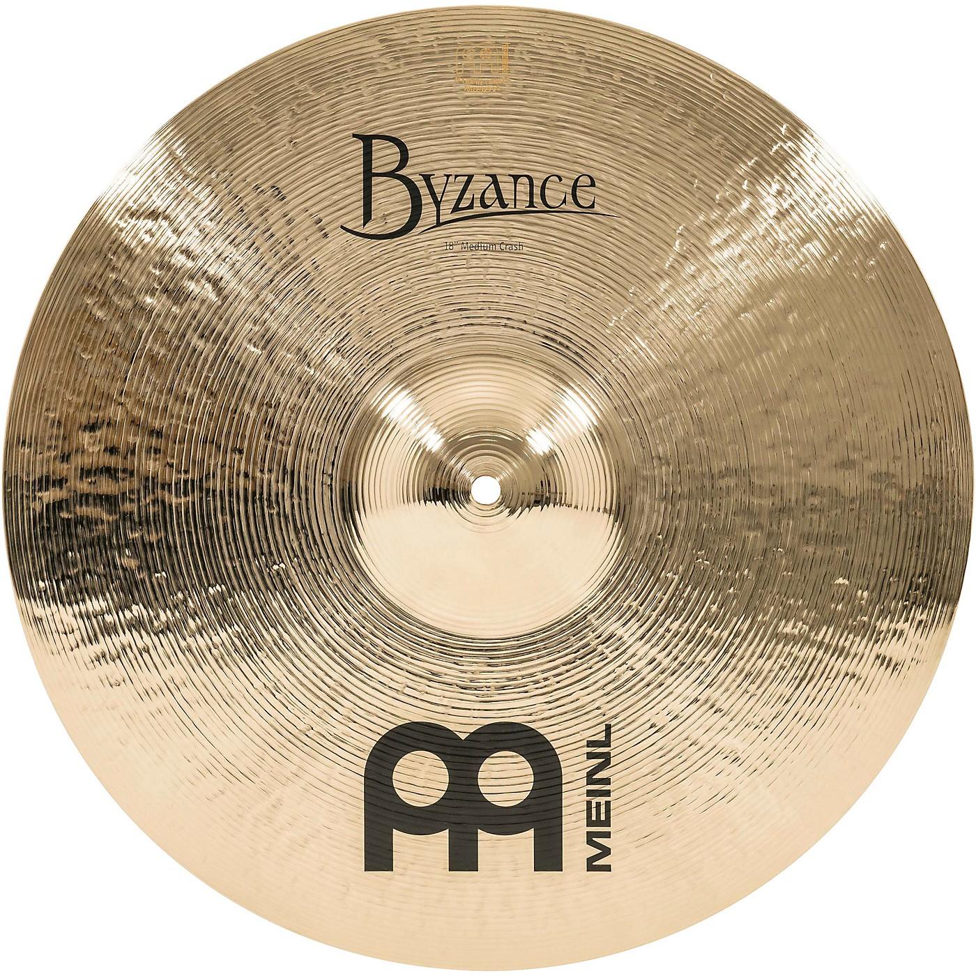 Meinl Byzance Brilliant Medium Crash Cymbal thumbnail