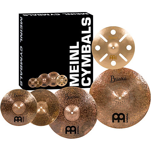 Meinl Byzance Dark Cymbal Set with FREE 16 in. Vintage Trash Crash thumbnail