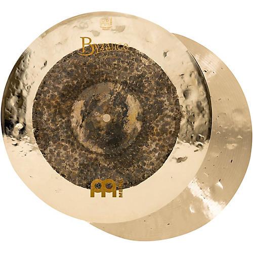 Meinl Byzance Extra Dry Dual Hi-Hat Cymbal Pair thumbnail