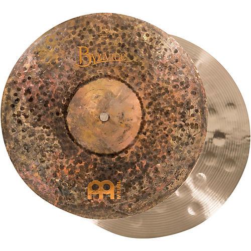 Meinl Byzance Extra-Dry Medium Hi-Hat Cymbals-thumbnail