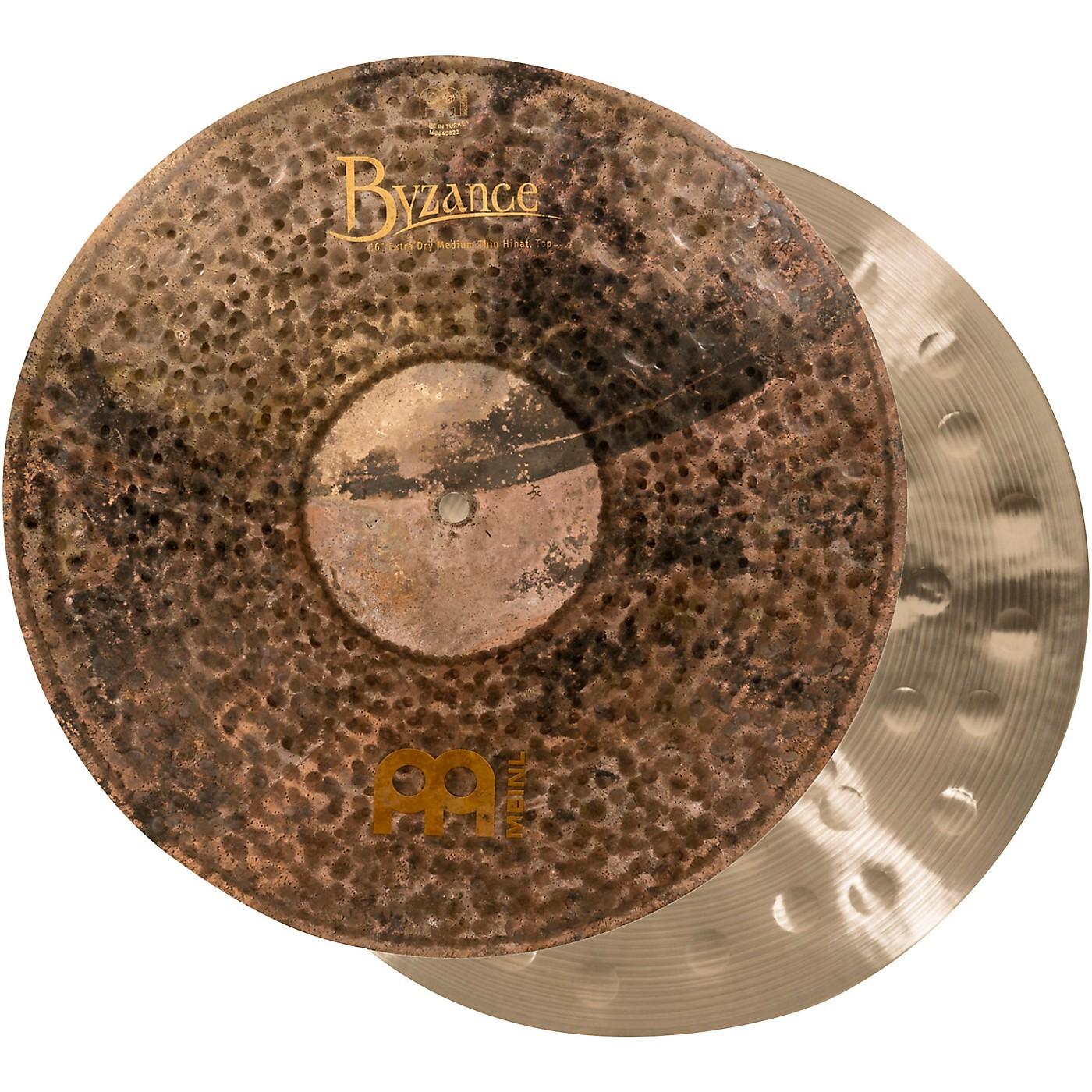 MEINL Byzance Extra-Dry Medium Hi-Hat Cymbals thumbnail