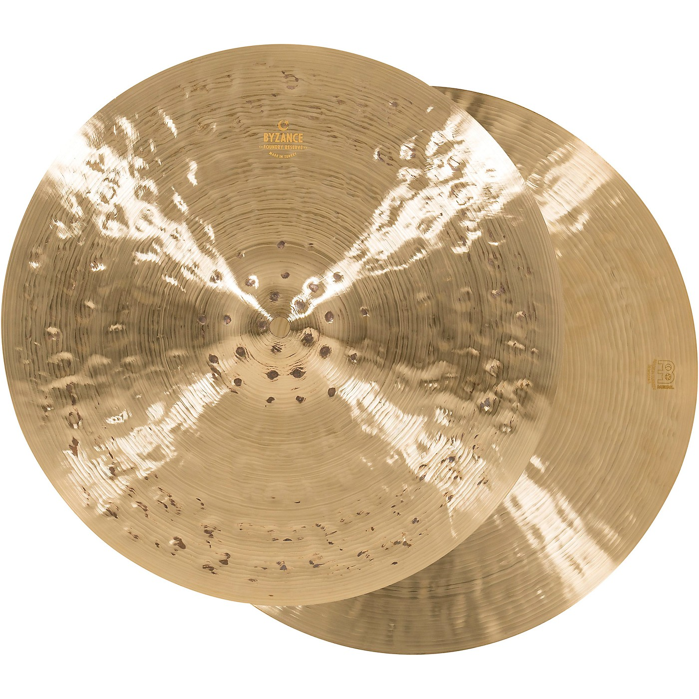 Meinl Byzance Foundry Reserve Hi-Hat Cymbal Pair thumbnail