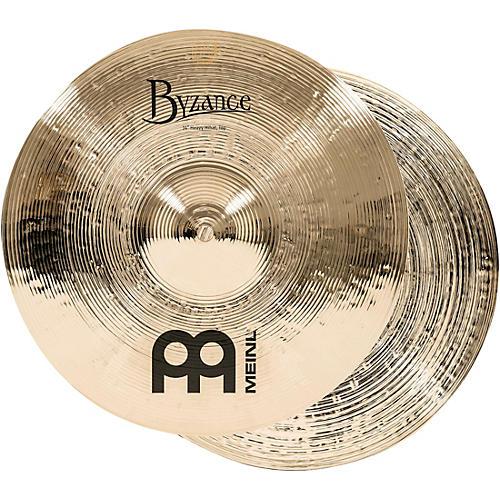 Meinl Byzance Heavy Hi-Hat Brilliant Cymbals thumbnail