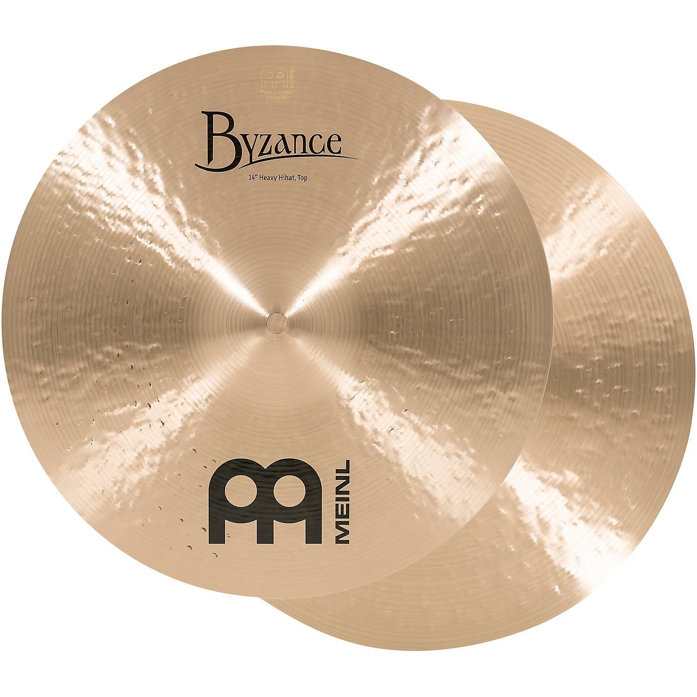 Meinl Byzance Heavy Hi-Hat Traditional Cymbals thumbnail