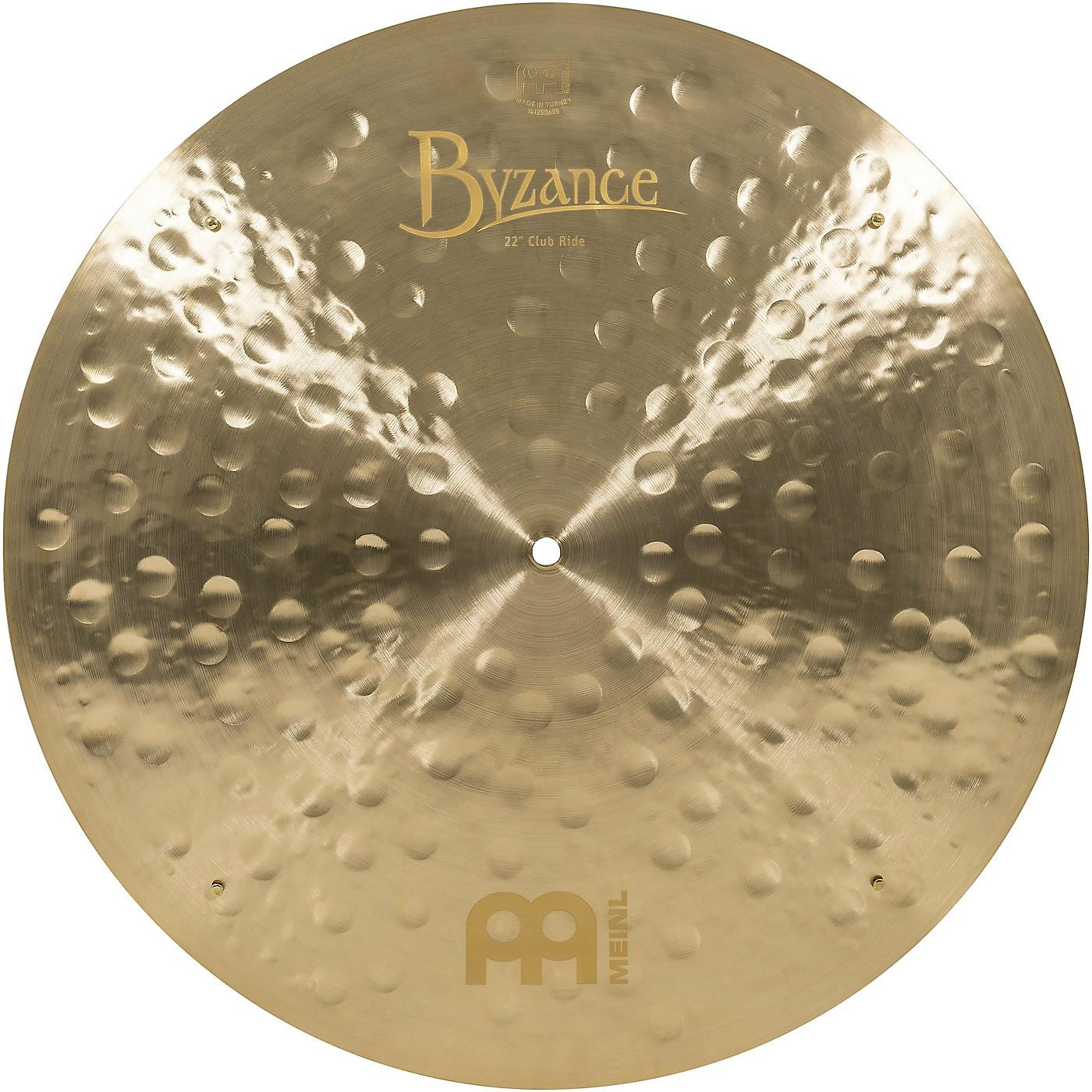 Meinl Byzance Jazz Club Ride Traditional Cymbal thumbnail