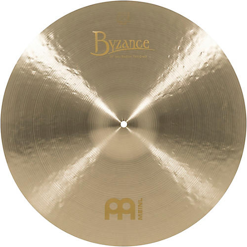 Meinl Byzance Jazz Medium Thin Crash Cymbal thumbnail
