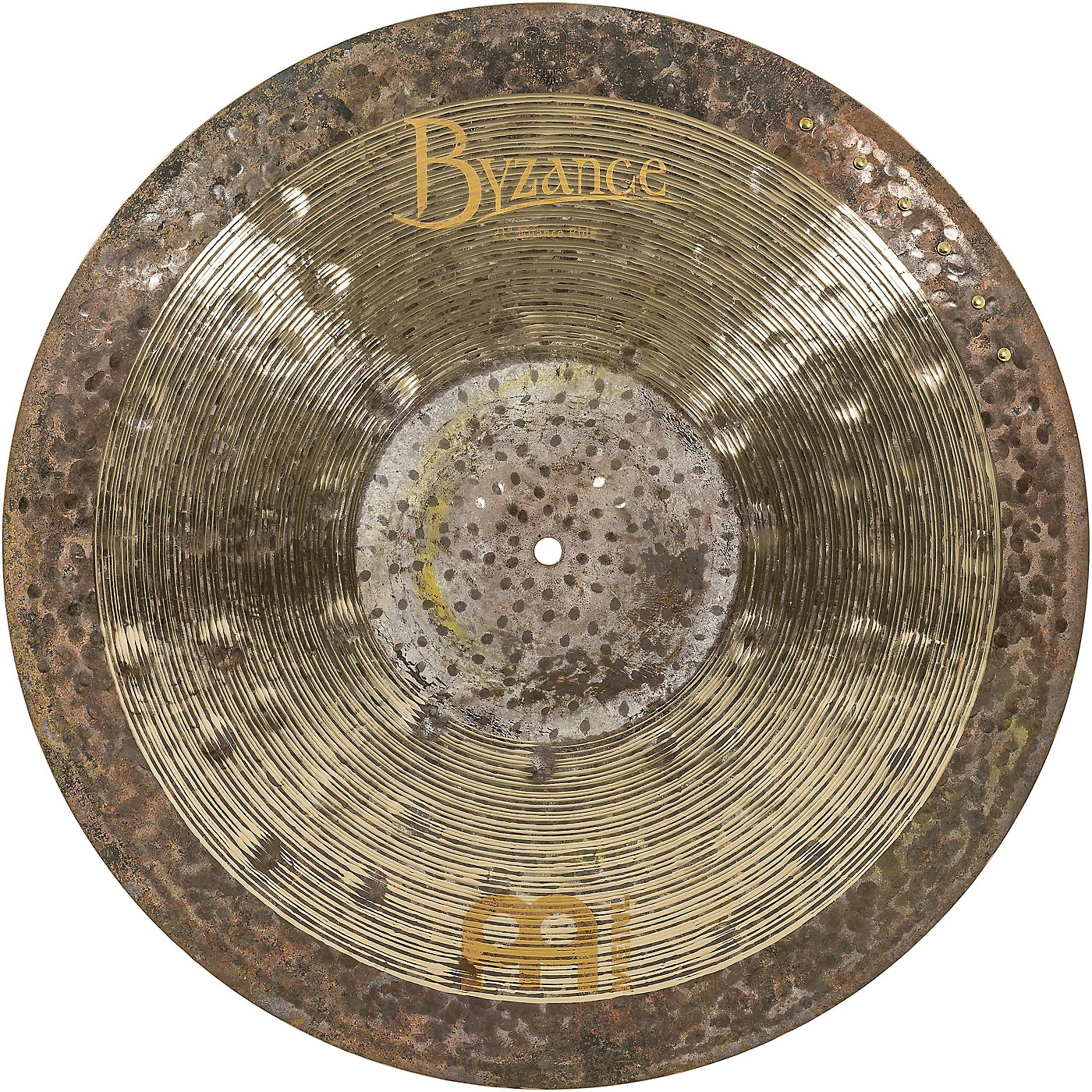Meinl Byzance Jazz Ralph Peterson Signature Nuance Ride Cymbal with Rivets thumbnail