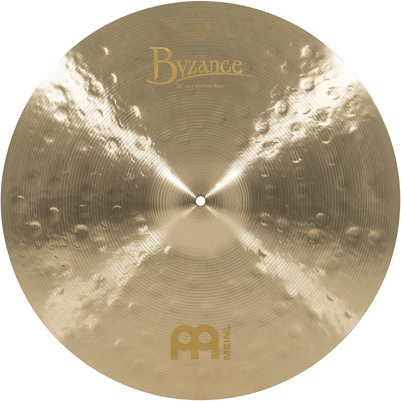 Meinl Byzance Jazz Series Medium Ride Cymbal thumbnail