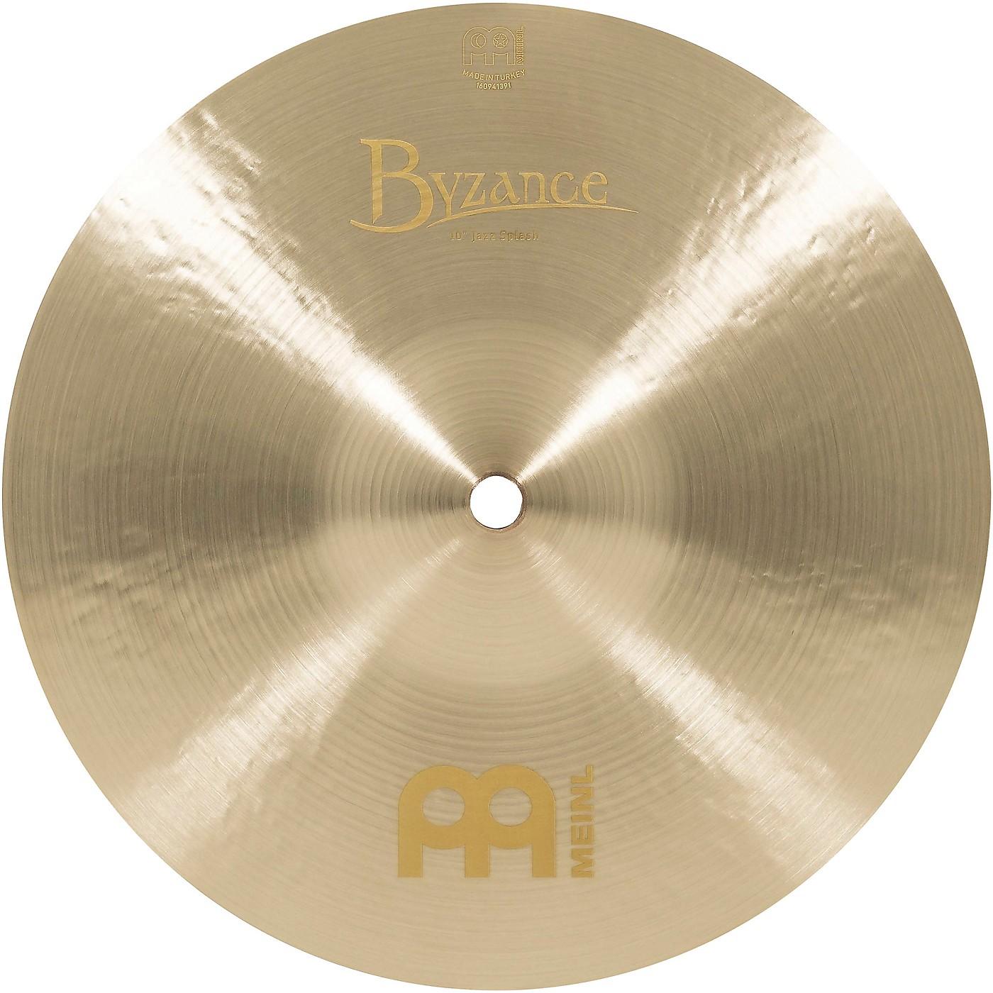 Meinl Byzance Jazz Splash Cymbal thumbnail