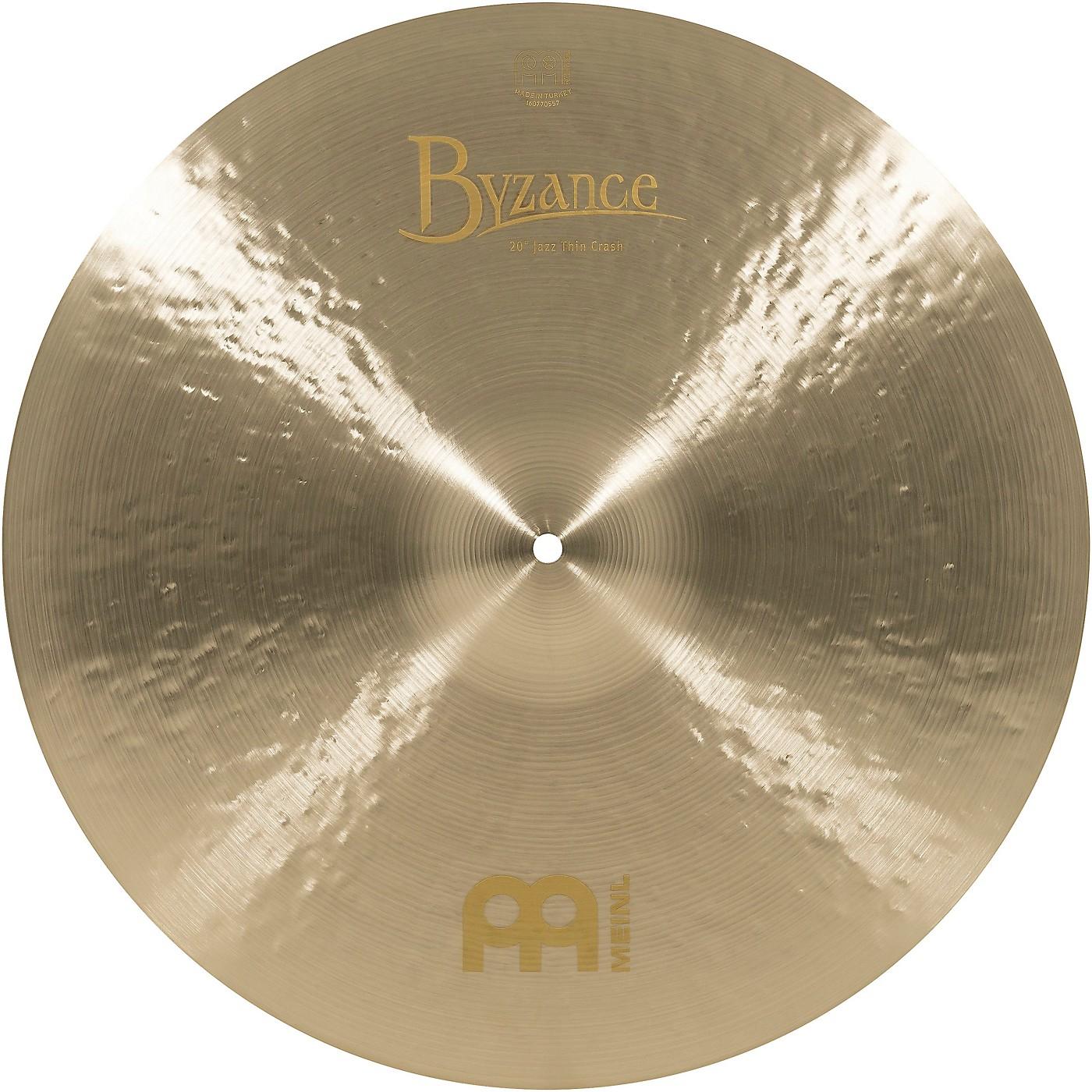 Meinl Byzance Jazz Thin Crash Traditional Cymbal thumbnail