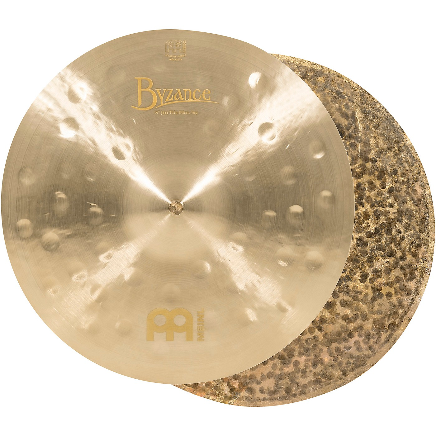 Meinl Byzance Jazz Thin Hi-Hat Traditional Cymbals thumbnail