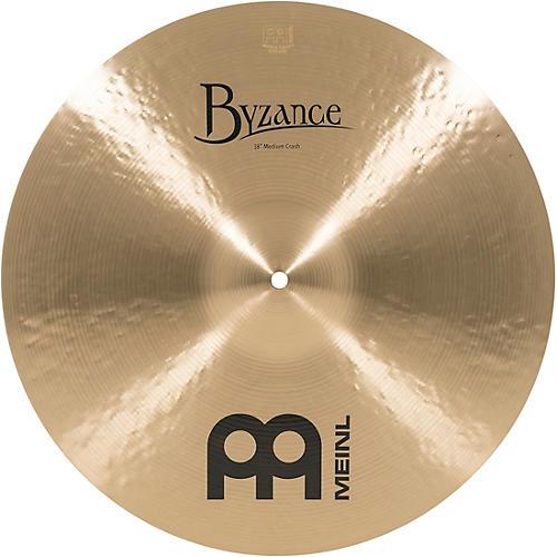 Meinl Byzance Medium Crash Traditional Cymbal thumbnail