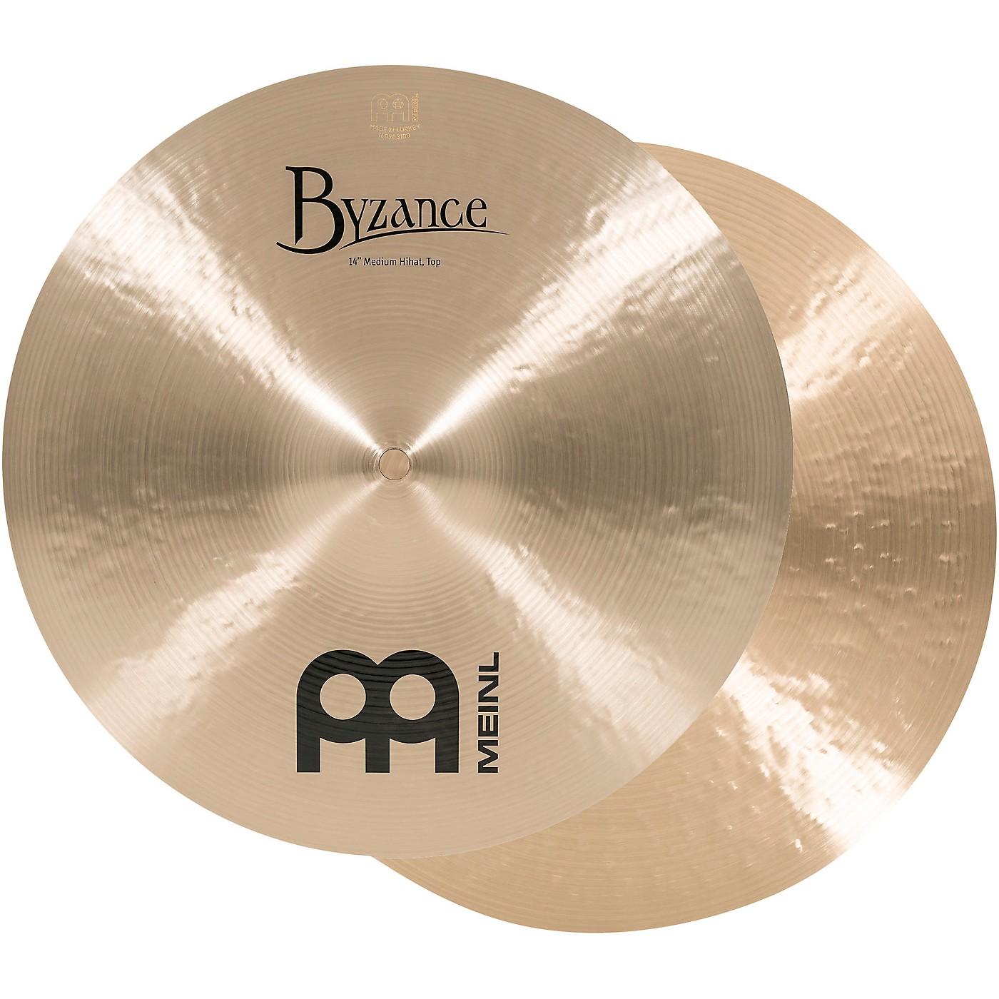 Meinl Byzance Medium Hi-Hat Cymbals thumbnail