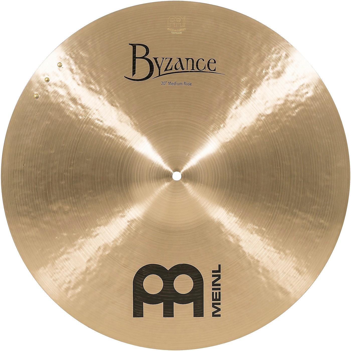 Meinl Byzance Medium Sizzle Ride Traditional Cymbal thumbnail