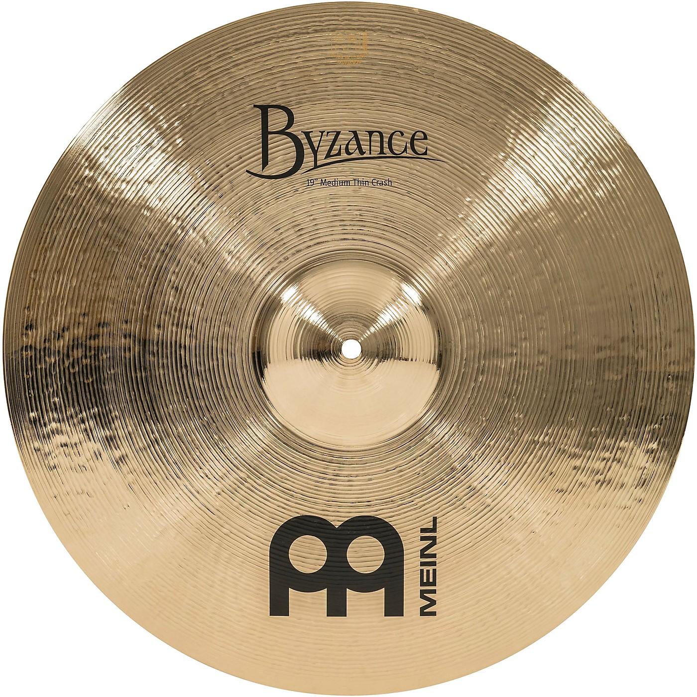 Meinl Byzance Medium Thin Crash Brilliant Cymbal thumbnail