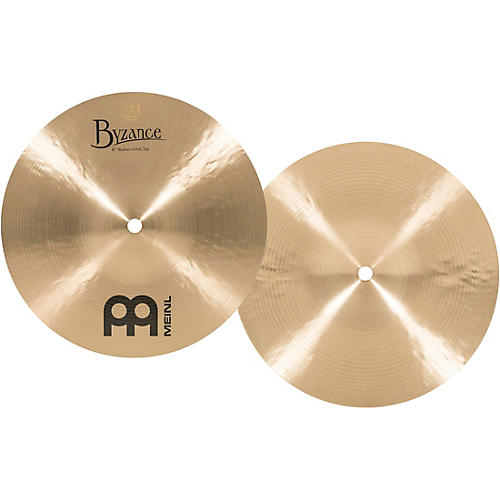 Meinl Byzance Mini Hi-Hat Traditional Cymbals thumbnail
