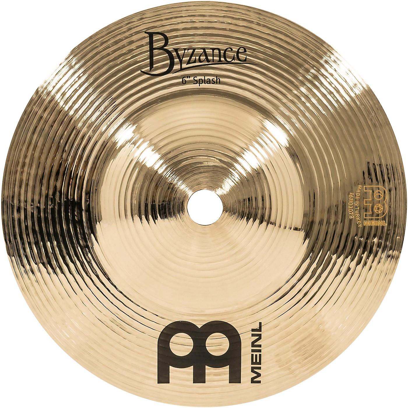 Meinl Byzance Splash Cymbal thumbnail