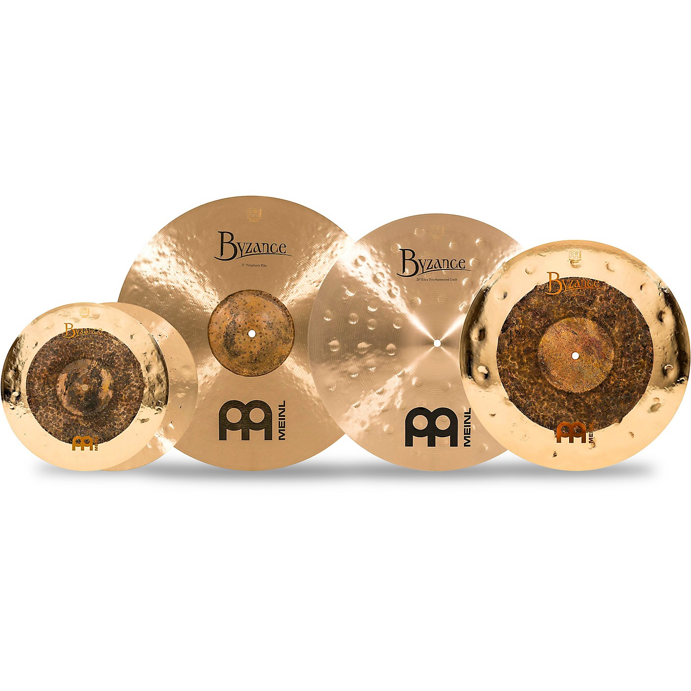 Meinl Byzance Studio Select Cymbal Set with Free 18 in. Dual Crash thumbnail