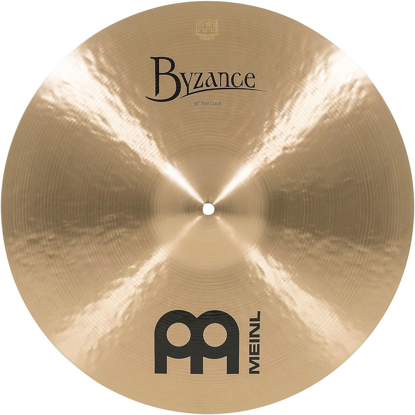 Meinl Byzance Thin Crash Traditional Cymbal thumbnail