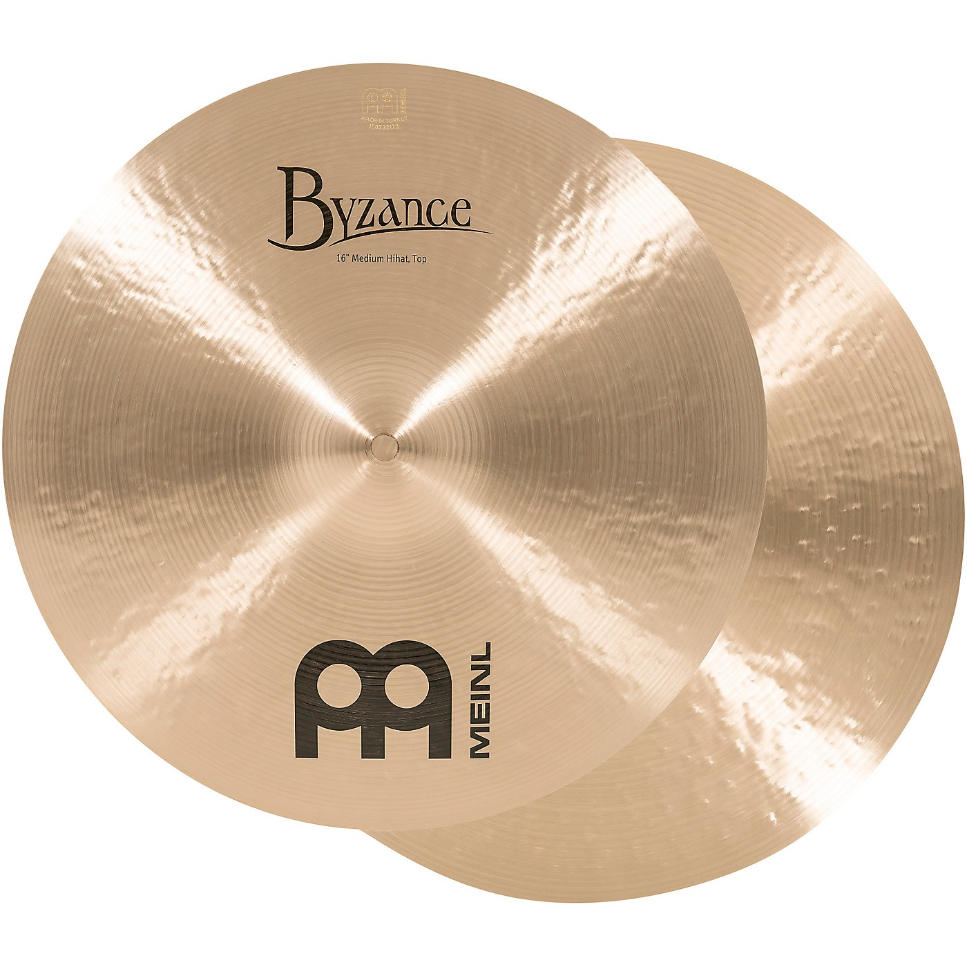 Meinl Byzance Traditional Medium Hi-Hat Cymbal Pair thumbnail